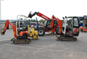 Plant Hire - Ellon Timber Building Supplies Aberdeen